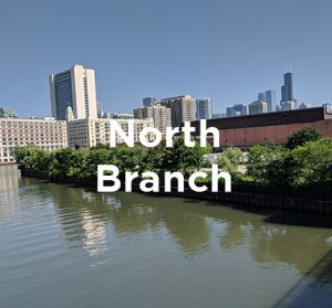 Proposed office and mixed-use development site along the Chicago River North Branch